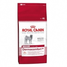 royal c canin size nutrition medium dermaconfort 24. Black Bedroom Furniture Sets. Home Design Ideas