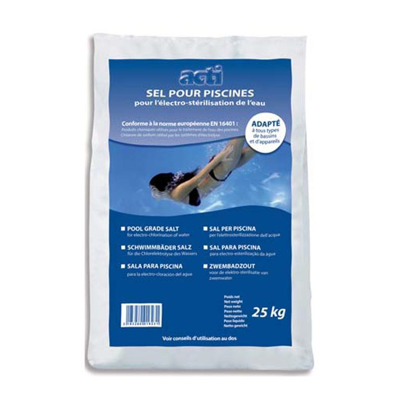 D 39 electrolyse sel guide d 39 achat for Sac de sel piscine