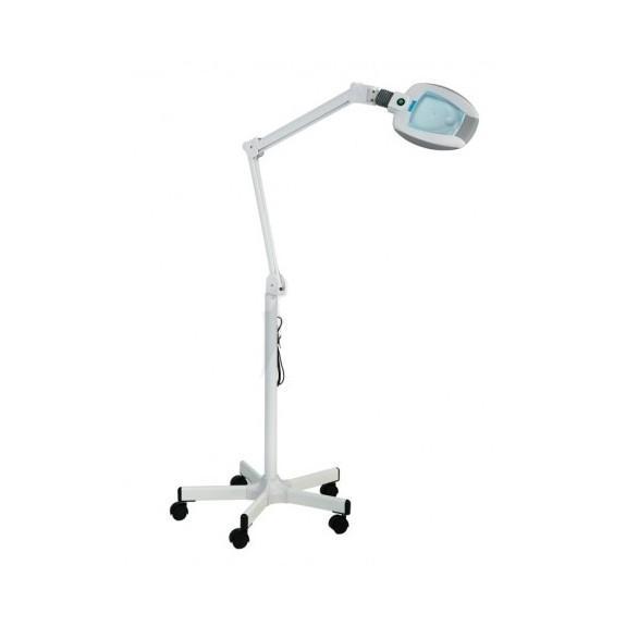Lampe loupe ampli lampe loupe leds sur pied roulettes